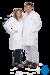 neoLab® Labormantel Herren, BW, Reverskragen, 1/1 Länge, Gr. 50 Labor-Berufsmäntel aus 100%...