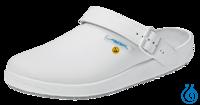 Abeba Labor- u.Schutzschuhe Gr.38 antistatisch Nr. 4-1151 Abeba Laboratory shoes smooth leather,...