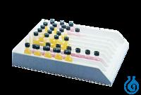 neoLab-Schlitz-Racks 8 Reihen 32,0 mm Br Nr. 6-2241  neoLab-Schlitz-Racks 8...