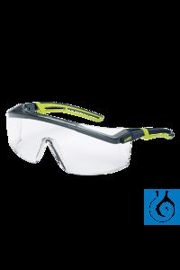 Uvex UV 400 Schutzbrille mit Panoramascheibe und Seitenschutz Rundumschutz im...