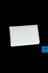 neoLab® 96-Well PCR-Platte, PP, ohne Rand, klar, teilbar in 8er Strips, 50...