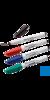 neoLab® Lab-Marker, rot Markierstift mit feiner Spitze für trockene oder feuchte, kalte oder...