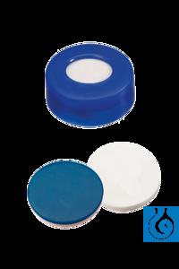 neochrom® Schnappringkappe (schwarz), 11 mm, PTFE/Silikon; VE: 100 Stück Die...