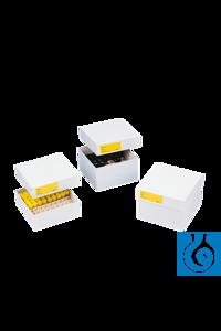 neoLabLine® Kryobox beschichtet aus Karton, weiß, 136x136x100mm Die neoLab Kryobox ist aus...