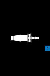 neoLab® Übergangsstück (PP) gerade, f. 1,6-2,6 mm/4,0-5,0 mm, 10 Stck./Pack Reduzierstück,...