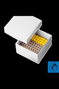 neoLabLine® Kryobox beschichtet aus Karton, weiß, 136x136x50 mm Die neoLab Kryobox ist aus...