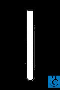 ecoLab Einmalröhrchen aus PS ohne Rand, 75 x 12 mm, 4.000 St./Pack mit rundem Boden, ohne Rand