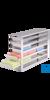 neoLab Schrankeinschub mit Stopp f. Boxen f. 15/50 m, 4 x 2 Fächer Für neoLab-Boxen für...