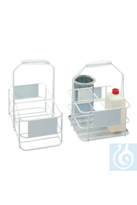 neoLab® Flaschenkorb für 4 x 1 l neoLab® Bottle basket for 4 x 1 l