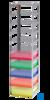 neoLab Truhengestell f. 100er Box, 3 Fächer, 141 x 141 x 321mm Für alle Kryo-Boxen mit den...