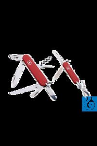 neoLab® Schweizer Taschenmesser groß Modell Victorinox, groß, rotLänge ca. 85 mm  bestehend aus:...