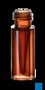 neochrom®  Kurzgewinde-Mikroflasche ND9 0,3 ml TPX hoch transparent, 100 St./Pac...