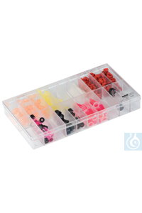 neoLab® Sortimentskasten (PS), 20 Fächer neoLab® Assortment box (PS), 20 compartments