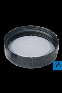 Schraubverschluss Poly Einlage DIN 68 Schwarze Schraubgewindeverschlüsse mit Kunststoffeinlage,...