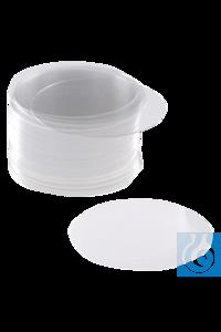 neoLab® Deckgläser Stärke III, 22 mm Ø Runde Deckgläser der Stärke 3 Höchste hydrolytische...