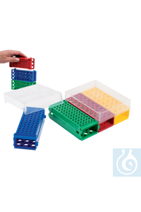 SlipLock Flipper® Rack für PCR- u. Reaktionsgefäße, Set SlipLock Flipper® Rack for PCR and...