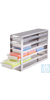 neoLabLine® Schrankeinschub f. neoBox-100, 3x5 Fächer, 148 x 495 x 299 mm Für die neoBox-100...