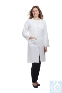 Labormantel Damen, 100 % BW, Gr. 38 Women's laboratory coat, 100% cotton, size 38