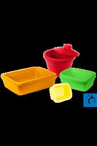 neoLabLine® Leichte Eiswanne ohne Deckel, 1 l, PVC Die neoLab Eisbehälter...