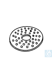 ecoLab Exsikkatorplatte aus Porzellan f. 250 mm Ø