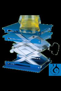 neoLab® Laboratory lifting platform, high-grade steel, 20 x 20 x 29 cm