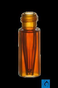 neochrom® TopSert TPX Kurzgewindeflasche, 32 x 11,6mm, mit integr. 0,2ml Glas-Mi...