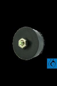 neoLabLine® Ersatzfuß für Vortex Reagenzglasmischer 7-2020 neoLab® Replacement foot for Vortex...