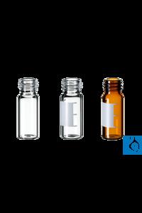neochrom® Gewindeflaschen ND10, Klarglas, 1,5 ml, 100 Stck./Pack