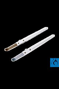 neoLab Vibrations-Wägespatel, Spitze mit PTFE-Beschichtung Für die exakte Beimengung von...