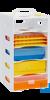neoStapelRack zum Aufeinanderstecken, weiß Einzelelement für neoStapelRack® Passend für die...