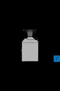 ecoLab Steilbrustfl.braun .Weith. 250 ml NS 34 Glasst. Stück Nr.E-4026 mit NS-Glasstopfen