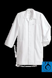 Labormantel weiß, HACCP-gerecht, Mischgewebe, Gr. XXL Dieser Berufsmantel für Sie und Ihn erfüllt...