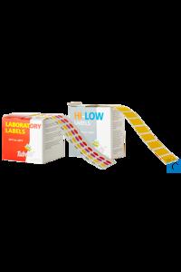 neoLab Labels for reaction vessels, 1000 pcs/pack Adhesive labels and dots for reaction vessels,...