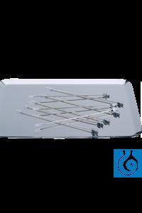 neoLab® Instrumententablett aus Edelstahl, 195 x 145 mm Instrumententablett aus Edelstahl, nicht...