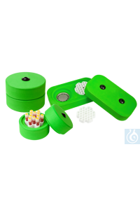 CellCamper® Mini, Einfrierbox für Zellen, 12 x 2.0 ml Kryoröhrchen