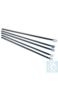 neoLab® Glas-Rührspatel 100 mm lang, 6 x 4 mm, 10 Stck./Pack Rührspatel aus Glas , massiv in...