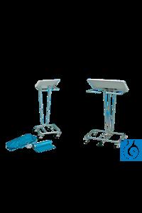 neoLab® Müllbeutel-Ständer f. Säcke mit 60-70 l, 38 x 38 x 83 cm (B x T x H) Müllbeutelständer...