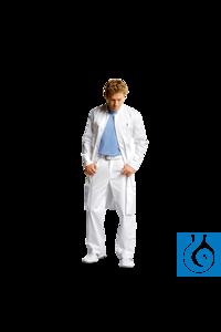 neoLab® Labormantel Damen, Stehkragen, Mischgewebe, Gr. 36 Modischer, weißer Berufsmantel mit...