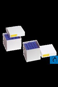 neoLabLine® Kryobox für Zellkulturrörchen beschichtet aus Karton, weiß, 155x155x Die neoLab...