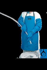 neoLab® Kryo-Arbeitsschürze, beidseitig tragbar, 92 cm lang Der Schutzschildgegen kryogene...