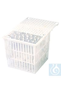 neoLab® Plastic basket 127 x 102 x 102 mm, without lid