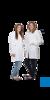 neoLab Damenmantel Gr. 48, weiß tailliert, Stehkragen, 100 % CO, 1/1 Arm,...