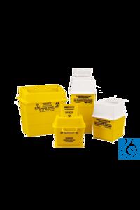 neoLab® SharpSafe (PP) 7 l Sicheres System zur Beseitung von scharfkantigen, gefährlichen oder...
