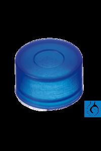 neochrom® PE Push-On Kappe 8 mm mit verdünnter Durchstichstelle 100 St./Pack Für Fläschchen ND8...