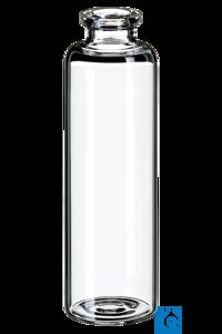 neochrom® ND20 Headspace Flaschen Klarglas, 50 ml, 101 x 31 mm, flacher Boden, 1 Die am Markt...