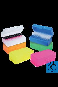 neoBox 50 Aufbewahrungsbox transparent, PP, 5 x 10 Plätze Die neoBox 50 ist eine praktische...