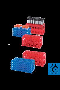 neoLab® 4-Seiten-Flipper Rack Gr. 1, orange Alle Seiten des Racks sind individuell nutzbar....