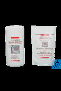 neoLab® Technische Reinigungstücher, Nachfüllpack 100 Stck. neoLab® Cleaning wipes for technics,...