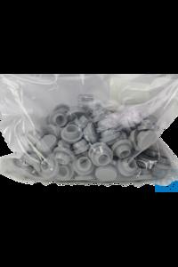 neoLab® Stopfen 20 mm, Butyl grau, 100 Stck./Pack Hohlstopfen zur Verwendung mit...