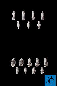neoLab® Schnellkupplung, 9/32'', männlich, Absperrung, Schlaucholive 6,4 mm Die neoLab...